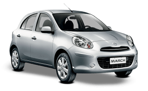 รถเช่าเชียงใหม่ ราคาถูก รุ่น Nissan-March